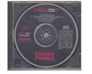 Cannon Fodder (CD32) i CD kasse