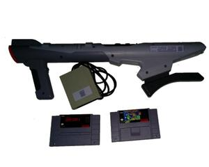 Super Nintendo Scope Bundle m. 2 spil (US)