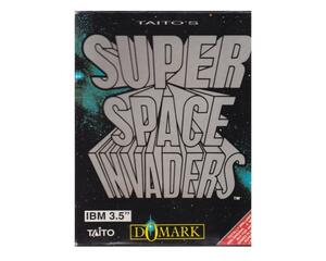 "Super Space Invaders m. kasse og manual (3.5"" disk)"