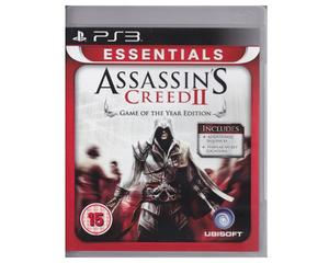 Assassin's Creed II (essentials)(Game of the Year Edition) (PS3)