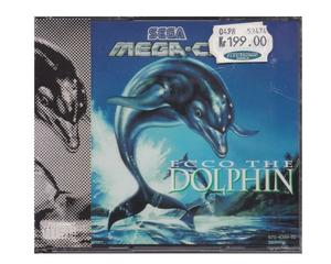 Ecco the Dolphin (Mega-CD) m. kasse og manual (forseglet)