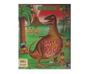 Human Race : The Jurassic Levels (Amiga) m. kasse og manual