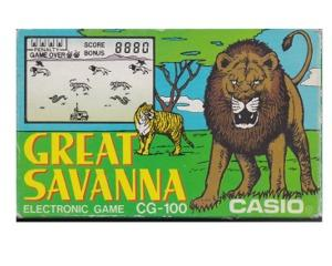 Great Savanna (Casio) m. kasse og manual