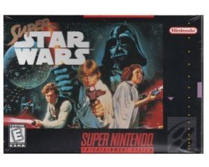 Super Star Wars (US) m. kasse og manual (forseglet)