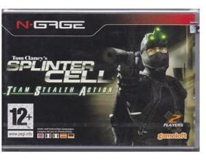 Splinter Cell : Team Stealth Action (forseglet)
