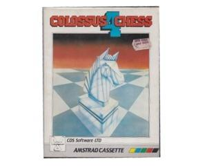 Colossus Chess 4 m. kasse og manual (CPC bånd)
