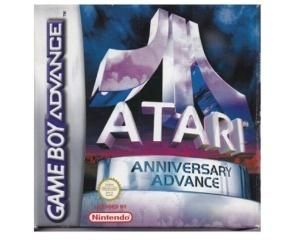 Atari Anniversary Advance m. kasse og manual (GBA)
