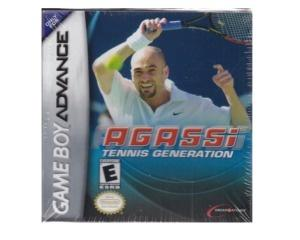 Agassi : Tennis Generation m. kasse og manual (forseglet)