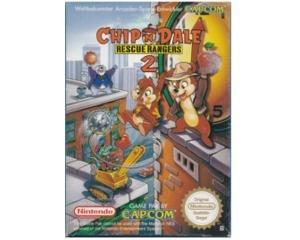 Chip'n Dale : Rescue Rangers 2 (noe) m. kasse og manual (NES)