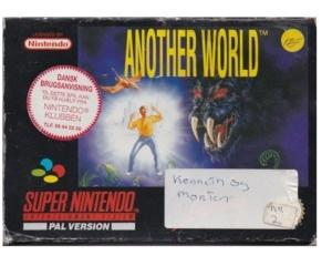 Another World (scn) m. kasse (slidt) og manual