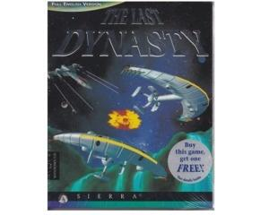 Last Dynasty, The m. kasse og manual (CD-Rom) (forseglet)