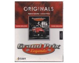 Grand Prix Legends (sierra originals) m. kasse og manual (CD-Rom) (forseglet)