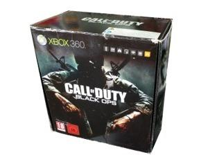Xbox 360 Slimline (250gb) m. kasse og manual (Call of Duty : Black Ops edition)