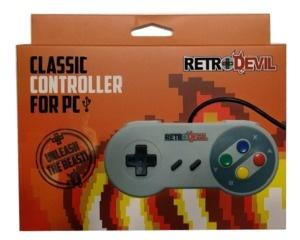 Snes joypad til PC USB (RetroDevil) (Ny vare)