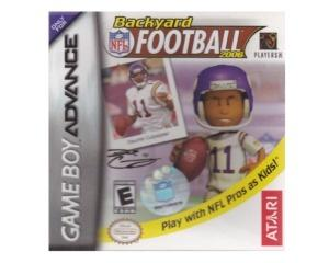 Backyard Football 2006 m. kasse og manual (GBA)