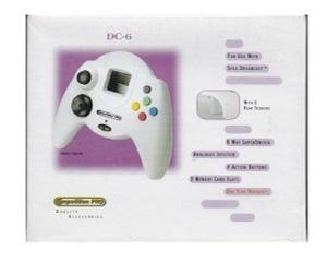 Dreamcast joypad (competition pro) m. kasse