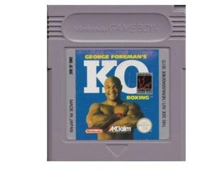 George Foreman's K.O. Boxing (GameBoy)