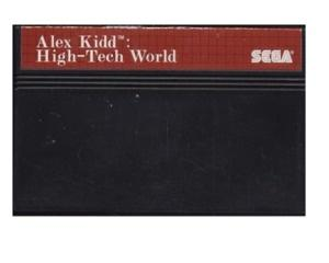 Alex Kidd in High Tech World (kosmetiske fejl)
