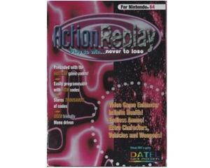 Action Replay m. kasse og manual