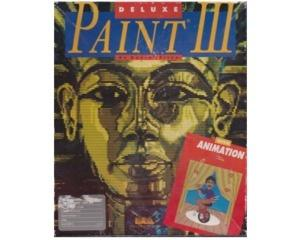 DeLuxe Paint III (Amiga) (1mb) m. kasse og manual
