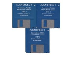 Alien Breed 2  (løs disk)  (Amiga 1200/4000)