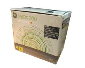Xbox 360 Elite (120gb) m. kasse og manual (sort) (refurb)