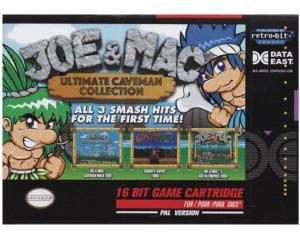 Joe & Mac Ultimate Caveman Collection m. kasse og manual (ny vare) (SNES)
