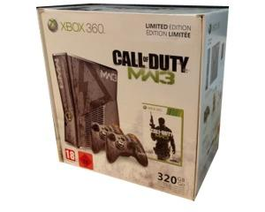 Xbox 360 Slimline (320gb/GO) (Call of Duty MW3 Edition) m. kasse