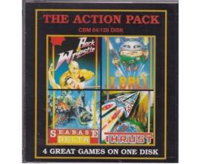 Action Pack, The (disk) m. kasse og manual