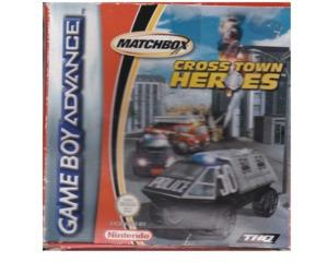 Cross Town Heroes m. kasse (slidt) og manual (GBA)