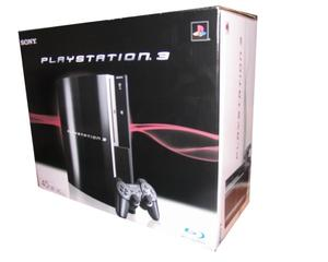 Playstation 3 40GB m. kasse og manual