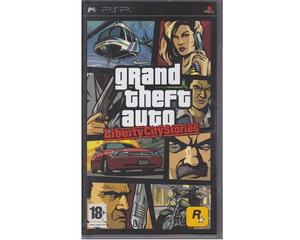 Grand Theft Auto : Liberty City Stories (tysk kasse og manual)