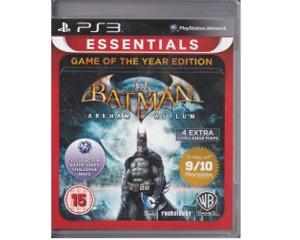 Batman : Arkham Asylum (essentials) (game of the year edition) (PS3)