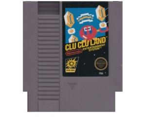 Clu clu land (eu label) (NES)