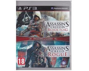 Assassins Creed IV / Assassins Creed : Rogue (PS3)