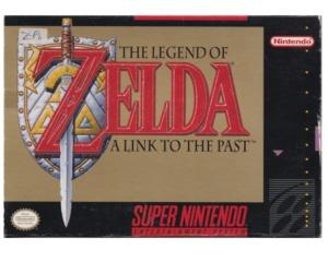 Zelda, The Legend of : A Link to the Past (US) m. kasse (SNES)