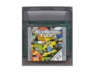 Micro Machines 1 and 2 Twin Turbo (GBC)
