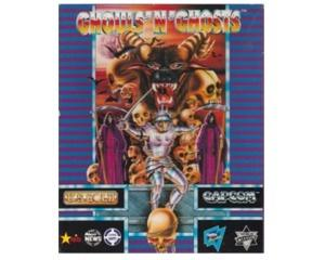 Ghouls'n Ghosts m. kasse og manual (Amiga)