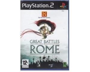 History Channel, The : Great Battles of Rome