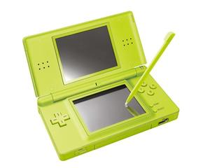 Nintendo DS Lite (Green) m. kasse og manual