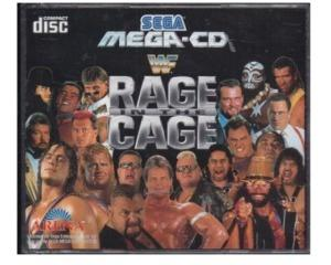 WWF : Rage in the Cage (Mega-CD) m. kasse og manual