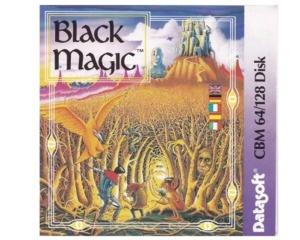 Black Magic (disk) kun med cover og manual (Commodore 64)