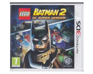 Lego Batman 2: DC Super Heroes u. manual (3DS)