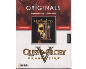 Quest for Glory V : Dragon Fire m. kasse og manual (CD-Rom) (forseglet)