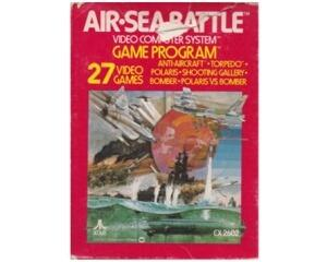 Air-Sea Battle (Atari 2600) m. kasse (slidt) og manual