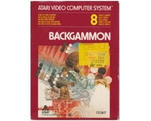 Backgammon (Atari 2600) m. kasse og manual