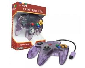 N64 joypad (atomic purple) (uorig) (Ny vare)