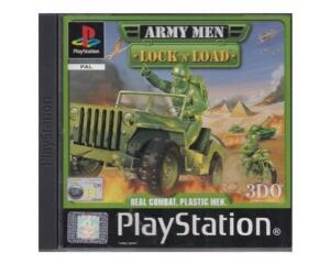 Army Men : Lock 'n' Load u. manual (PS1)
