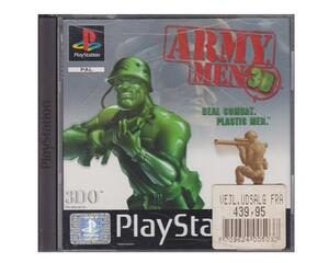 Army Men 3D (tysk kasse og manual) (PS1)