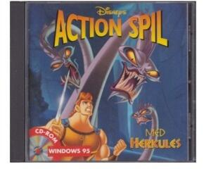 Action spil med Hercules(CD-Rom) i CD kasse m. manual